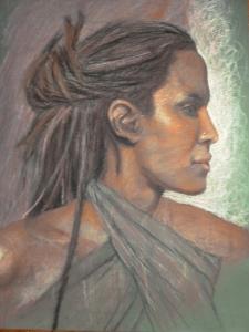 chalkpastel portrait