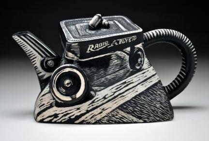 R. Flyer teapot