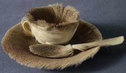 fur teacup